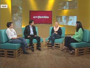 """Participação no programa """"Em Família"""" daFIOCRUZ"""