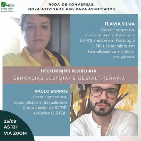 Live – ABG Errâncias LGBTQIA+ E Gestalt-Terapia com PauloBarros